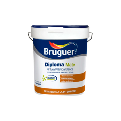 Bruguer diploma plastico especial pinturas arenas - Precio pinturas bruguer ...